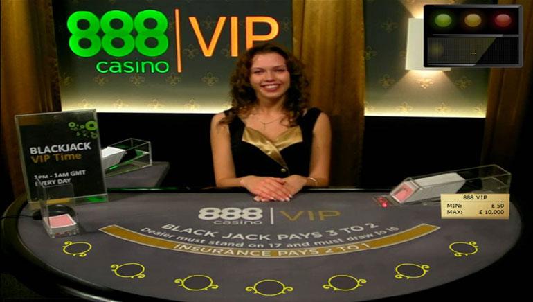 888 Casino uzlabo spēlēšanu ar dzīvu dalītāju