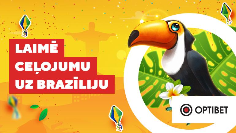 Optibet Casino Svin Karnevālu Sezonu ar Ceļojumu uz Brazīliju