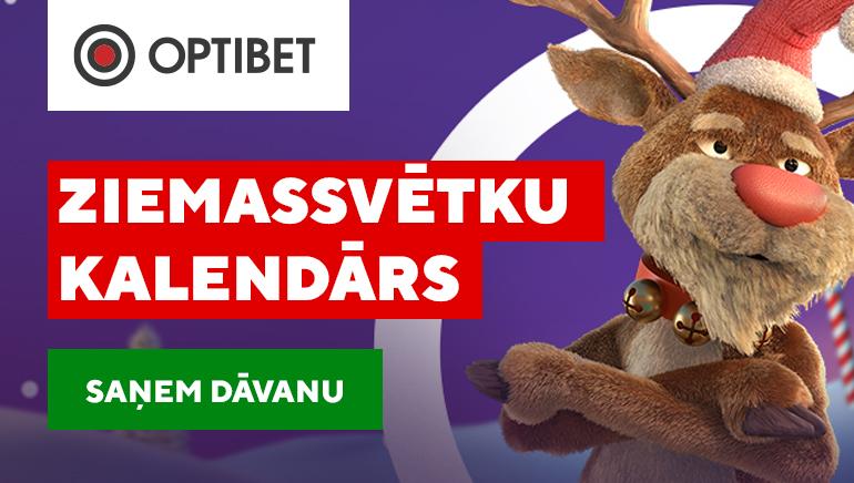 Nosvini Ziemassvētkus Agrāk ar Optibet Latvia Kazino Xmas Kalendārs