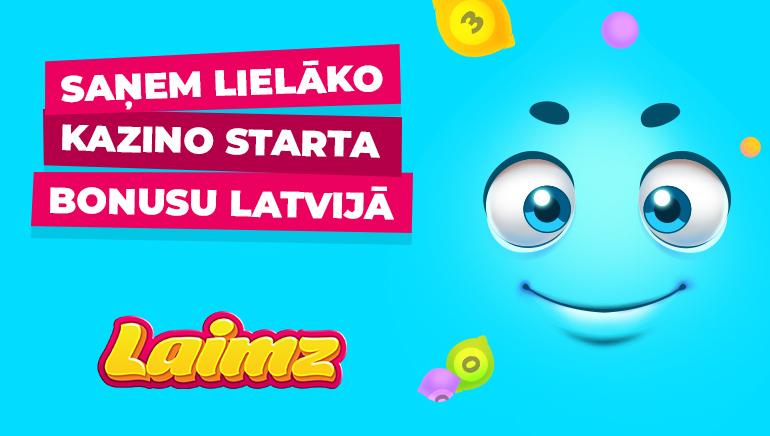 Laimz Latvija Aicina Jaunus Spēlētājus Ar 200 Win Spins & Līdz Pat €200 Naudas Atgriešanu