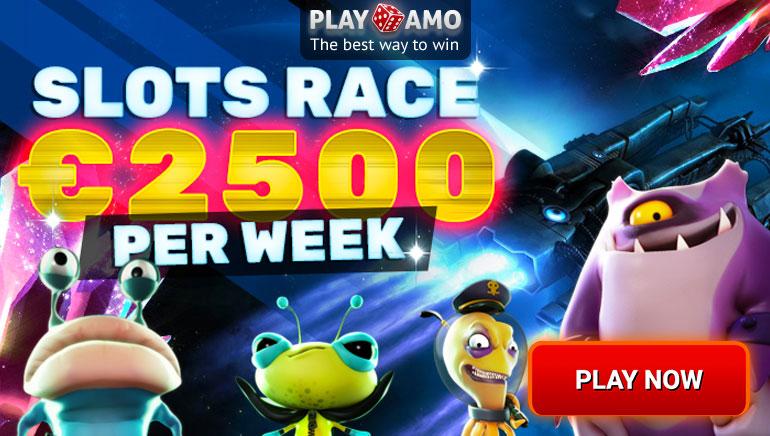 Laimē 2500€ Playamo spēļu automātu sacensībās